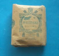 Croatia In WW2 - HUMSKI DUHAN - Nezavisna Drzava Hrvatska ( NDH ) * Paper Box Full With 20. Gramms Of Original Tobacco - Empty Tobacco Boxes