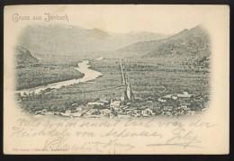 AUSTRIA JENBACH OLD POSTCARD 1899 - Jenbach