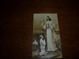 Souvenir Communion  Lucien Leonard Courcelles Sartis 1937 - Communion