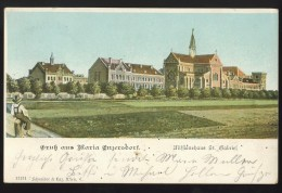 AUSTRIA MARIA ENZERSDORF OLD POSTCARD 1907 - Maria Enzersdorf