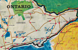 Canada Map Of Eastern Ontario