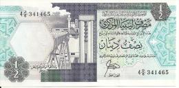 LIBYE 1/2 DINAR ND1990 UNC P 53 - Libya