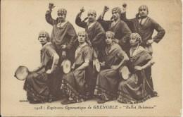 """38 - GRENOBLE - Isère - 1928 - Espérance Gymnastique De Grenoble """" Ballet Bohémien"""" Groupe Spectacle - Grenoble"""