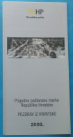 PLITVICE LAKES - Croatia Post Postage Stamp Prospectus* Waterfall Water Falls Geology Phenomenon Phénomène Géologique - Minerals