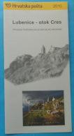 LUBENICE - ISLAND CRES 2010.  - Croatia Post Postage Stamp Prospectus - Stamps