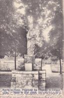 Marche-les-Dames.  Pensionnat Des Ursulines De Cologne.  Jardin  -  Statue De Saint Joseph. - Namur