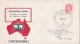 Australia 1965 Elizabethan Series 5d QEII FDC - Ersttagsbelege (FDC)