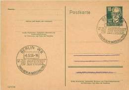 Postkarte  MiNr P41 «Radfernfährt Für Den Frieden» Sonderstempel - Postales - Usados