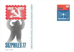 SOZPHILEX 77  Sonderwertstempel  MiNr P82 - Postales - Nuevos