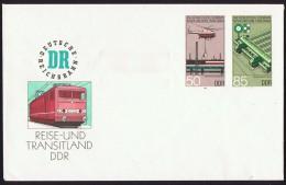 Eisenbahn  Sonderwertstempel  MiNr U 3 - DDR