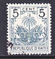 HAITI  41   (o)  PALM TREE - Haiti