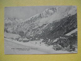 BAREGES. L'Avalanche Du 2 Février 1907. - Autres Communes