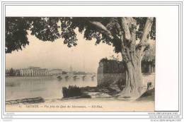 49 - SAUMUR - Vue Prise Du Quai Des Marronniers  - Divisé - Non Circulé - ND Phot. - (CPA 120) - Saumur