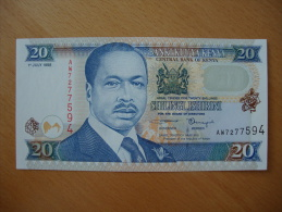Kenya 20 Shillings - Kenya