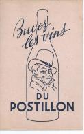 """Vins      """"   DU  POSTILLON   """"            Ft  =  13.5  Cm  X  21 Cm - Food"""