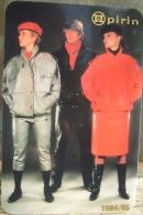 Bulgaria - Pirin / Socialist Fashion - 1984 / 1985 - Calendari