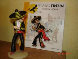 EDITION  MOULINSART   ALCAZAR LANCEUR DE COUTEAUX DANS TINTIN ET LES 7 BOULES DE CRISTAL - Tintin