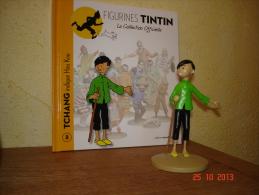 EDITION  MOULINSART  TCHANG INDIQUE HOU KOU DANS TINTIN  ET LE LOTUS BLEU - Tintin