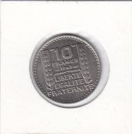 10 FRANCS Cupro-nickel 1949 - Francia