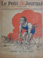 PETIT JOURNAL ILLUSTRE-11-5-1919-ICART- SPORTS- CIRCUIT CHAMPS BATAILLES -62-59-08--67-CYCLISME-MEETING STRASBOURG - Documentos Históricos