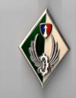 INSIGNE COMMANDEMENT DU TRAIN 2° CA FFA  - DRAGO PARIS G 3034 - Army