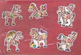 Manualidades, Cartulina Cebras (2) - Cromos