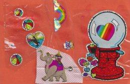 Manualidades, Cartulina Elefante Y Balones - Cromos