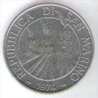 SAN MARINO 100 LIRE 1974 - San Marino