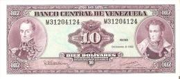 BILLETE DE VENEZUELA DE 10 BOLIVARES DEL AÑO 1992 CALIDAD EBC+  (BANKNOTE) - Venezuela