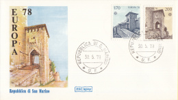 CEPT - Europa - 1978 - San Marino - Michel 1156 - 1157 - 1978