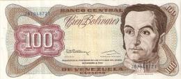 BILLETE DE VENEZUELA DE 100 BOLIVARES DEL AÑO 1992 (BANKNOTE) - Venezuela