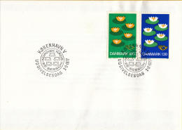 CEPT - Europa - 1977 - Scandinavië: Denemarken - Michel 635 - 636 - 1977
