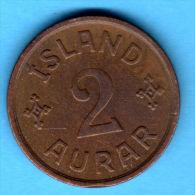 2 Aurar 1931  -  KM 6.1 - Islandia / Island / Iceland - Islandia