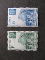 Guinée Française:TB Paire N°176 Et N° 177, Neufs X. Cote = 1.60 Euros. - Unused Stamps