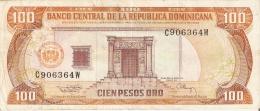 BILLETE DE REP. DOMINICANA DE 100 PESOS ORO DEL AÑO 1994 SERIE C (BANKNOTE) - República Dominicana
