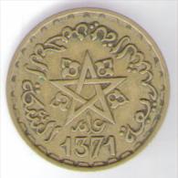 MAROCCO  20 FRANCS 1371 - Marruecos