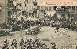 88 SAINT DIE REVUE DU 28 MAI 1919 LE DEPART DU MARECHAL PETAIN VIEILLE AUTOMOBILE - Saint Die