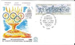 Premier Jour Emission/ Sports/ Jeux Olympiques /50 Ans/1984   PJE14 - Summer 1984: Los Angeles