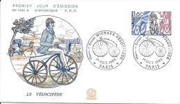 Premier Jour Emission/ Sports/ Le Vélocipéde/Paris/MICHAUX/1983   PJE27 - Cyclisme