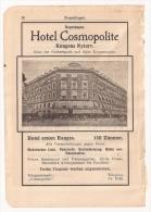Doc Copenhague, Hotel Cosmopolite - Documentos Antiguos