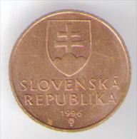 SLOVACCHIA 50 HALIEROV 1996 - Slovacchia
