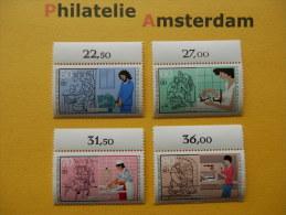 Germany West 1987, JUGEND HANDWERKSBERUFE AMBACHTEN PROFESSIONS: Mi 1315-18, ** - [7] República Federal