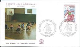 Premier Jour Emission/ Sports/ Jeux Mondiaux Des Handicapés Physiques / 1970   PJE19 - Handisport
