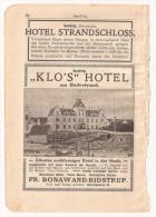 Doc Copenhague, Klos Hotel - Documentos Antiguos