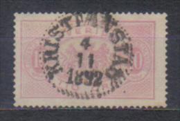 Sweden Mi Dienst 5 , Cancellation  KRISTIANSTAD 4.11. 1892 - Oblitérés