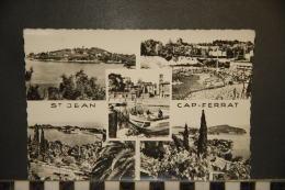 CP, 06, Saint Jean Cap Ferrat  Multivues N°66 Edition MAR 1959 - Saint-Jean-Cap-Ferrat