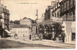 54. Longwy Bas. Rue De Metz. Coin Bas Droit Abimé - Longwy