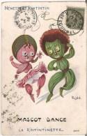 Illustrateur RIGHT - NÉNETTE ET RINTINTIN - MASCOT DANCE - LA RINTINTINETTE [3193] - Right