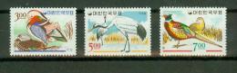 South Korea 1966,3V,birds,vogels,oiseaux,vögel,pajaros,MNH/Postfris, (E1994) - Zonder Classificatie