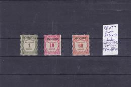 TIMBRE D ANDORRE NEUF LUXE  Nr 9/11** -11= TRES BON CENTRAGE + 30 %1931-32  COTE 85.10€ - Timbres-taxe
